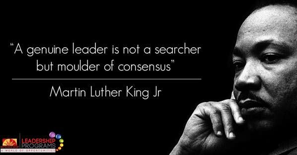 Leadership theory of martin luther king