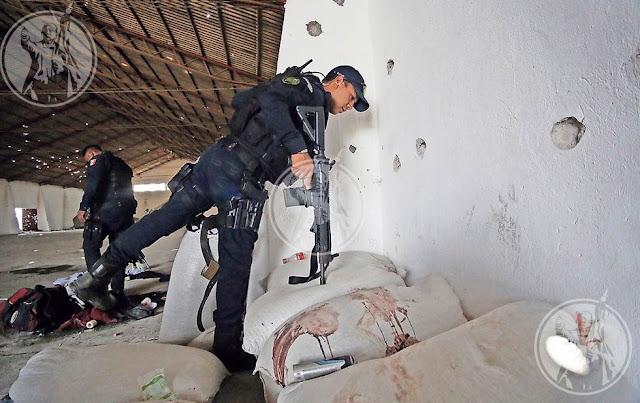 """En avionetas sicarios de """"La Gente Nueva"""" rescataron a heridos y muertos tras enfrentamiento con """"La Línea"""""""