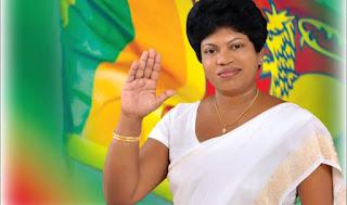 Katana UNP organizer and Western Provincial councilor Rose Fernando  - John clash continues