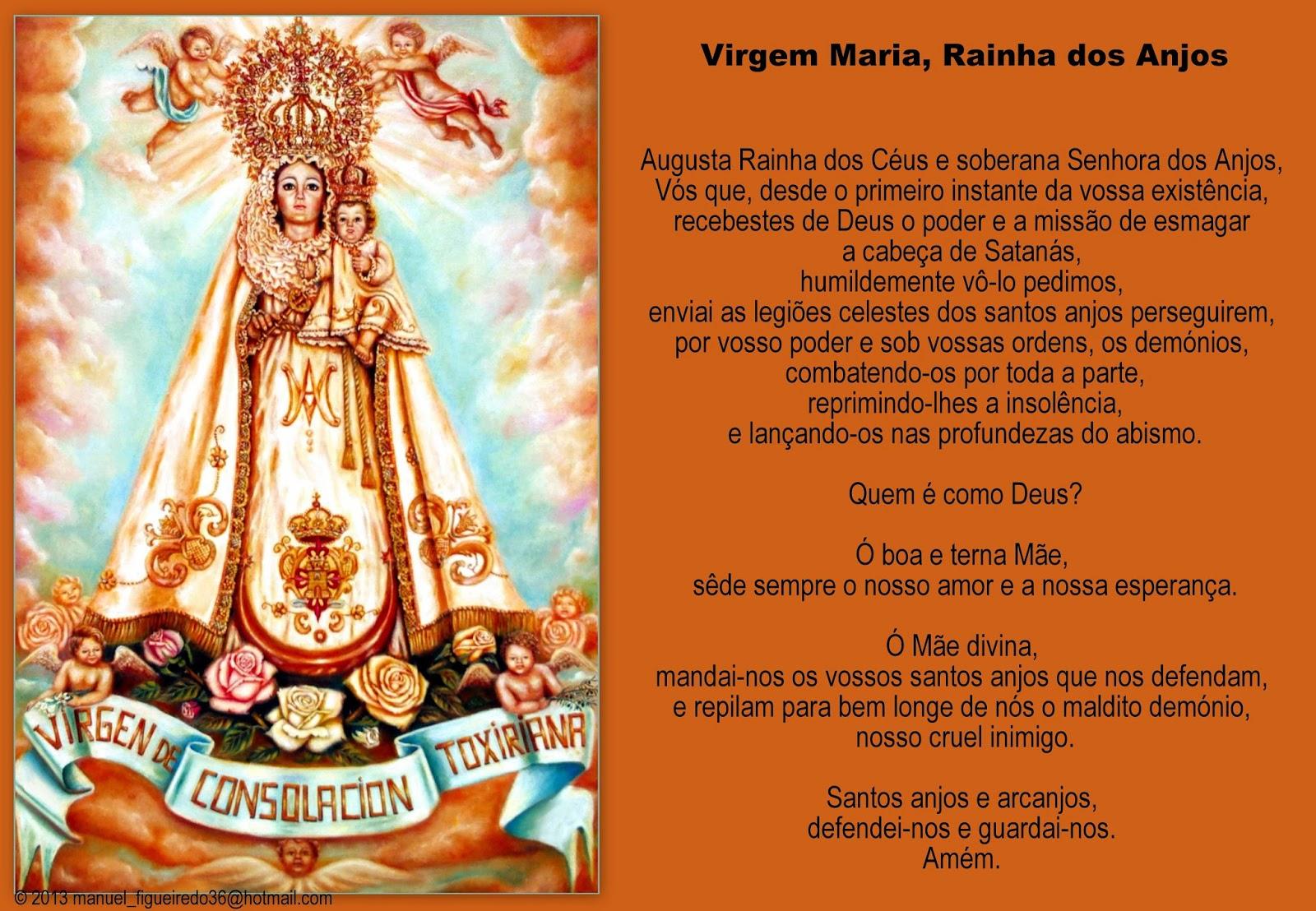 O Mundo Inteiro Espera A Resposta De Maria: ORAÇÕES TRADICIONAIS: VIRGEM MARIA