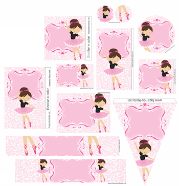 Sweet Ballerina Free Printable Mini Kit.