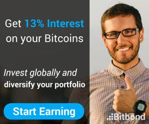 استثمر بيتكوين بأرباح حتى 13% او احصل على قروض مع bitbond