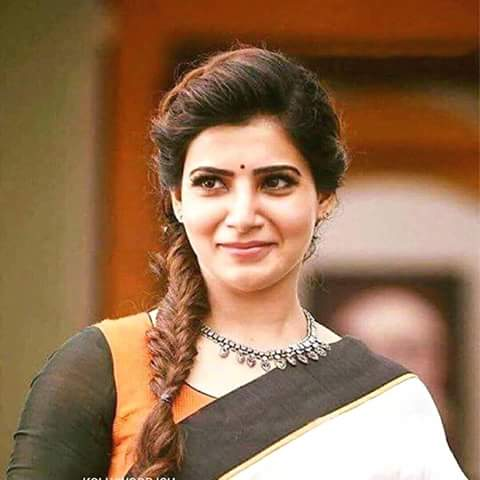 Samantha Ruth Cute Lovely Images - Romantic in Saree Too