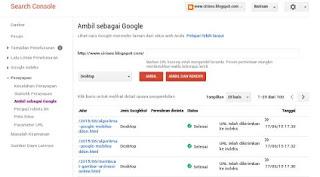 Cara Sumbit Blog ke Google Webmaster Tools