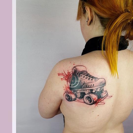 Brilliant Shoulder Tattoos For Women