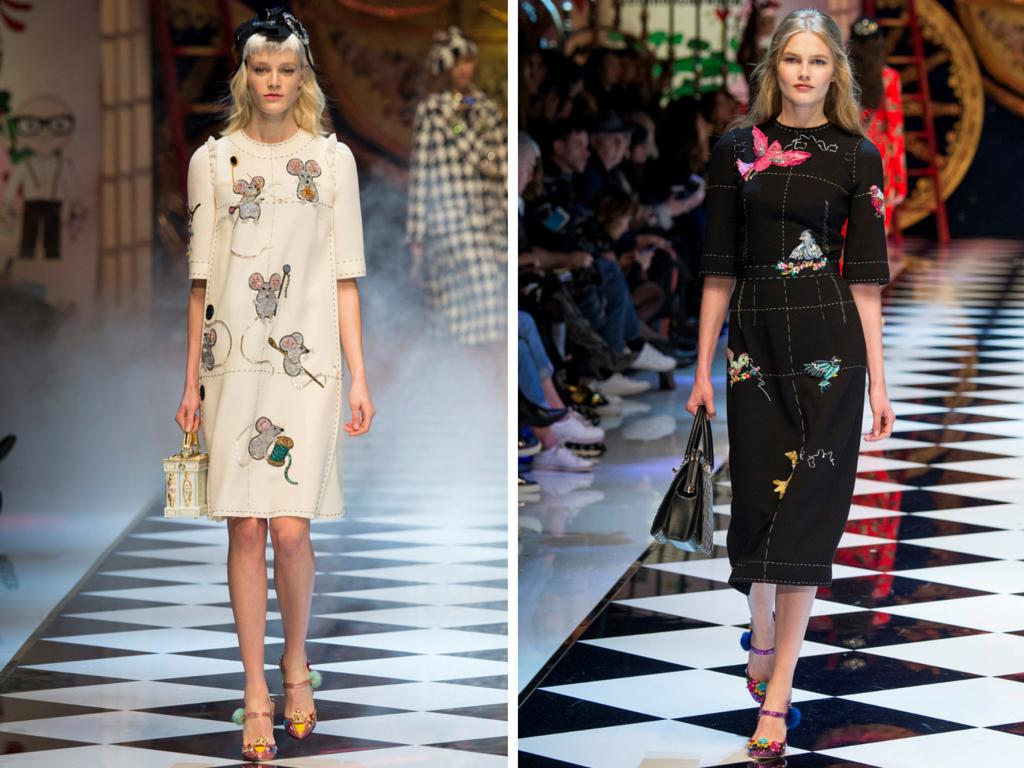 Dolce e Gabbana Inverno 2016  la collezione ispirata alle favole ... 05e7090574e