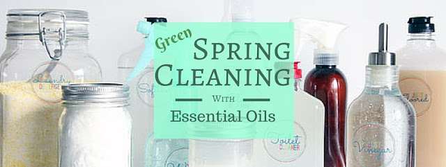 Living My Essential Life Spring Cleaning With Essential Oils