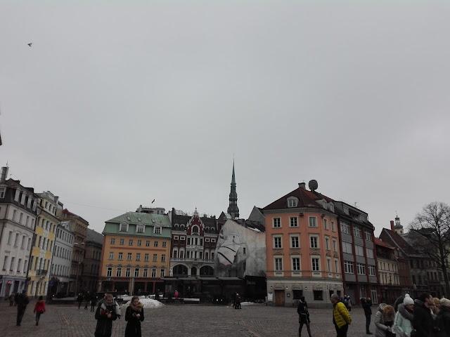 Plaza de la Catedral (Riga) (@mibaulviajero)