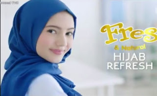 Profil dan Biografi Kelsea Dressler bintang iklan fresh and natural hijab refresh