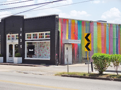 hi-res photo of biscuitpaintwall at 1435 Westheimer Biscuit Store