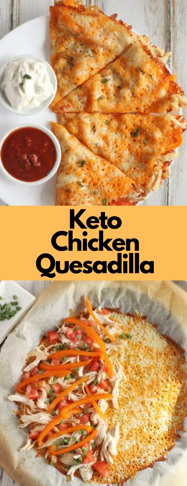 Keto Chicken Quesadilla #chicken #keto #lowcarb