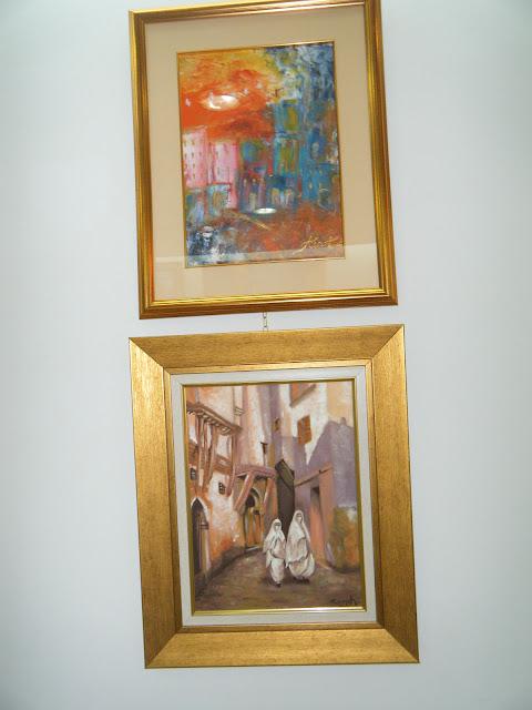 Les peintures de mes élèves à l'expo 24