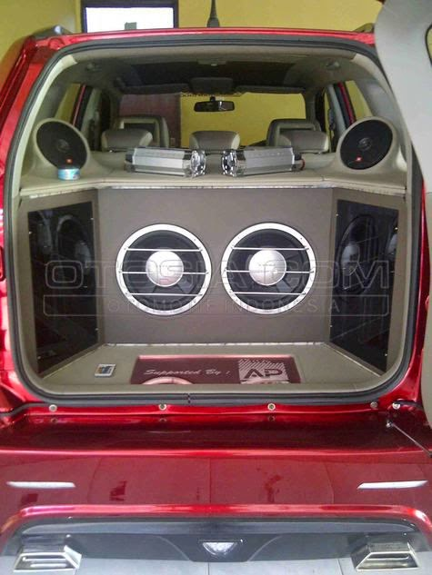 modifikasi audio Suzuki Grand Vitara 2014