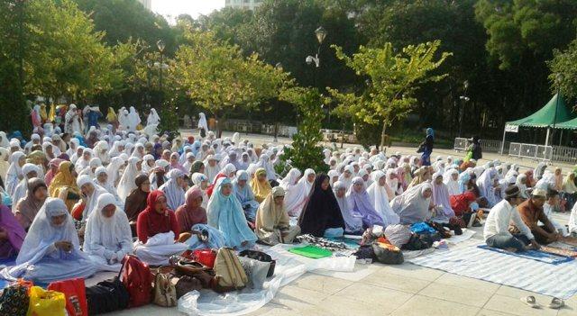 Update Lengkap Tempat Shalat Idul Fitri di Hong Kong