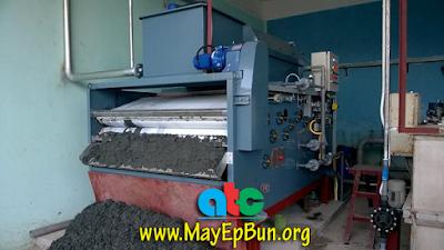 Lắp đặt và vận hành máy ép bùn băng tải Chishun Đài Loan