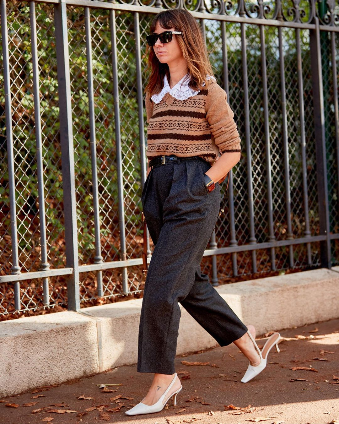 We Love These Chic School Girl-Inspired Outfits — Natasha Goldenberg Street Style