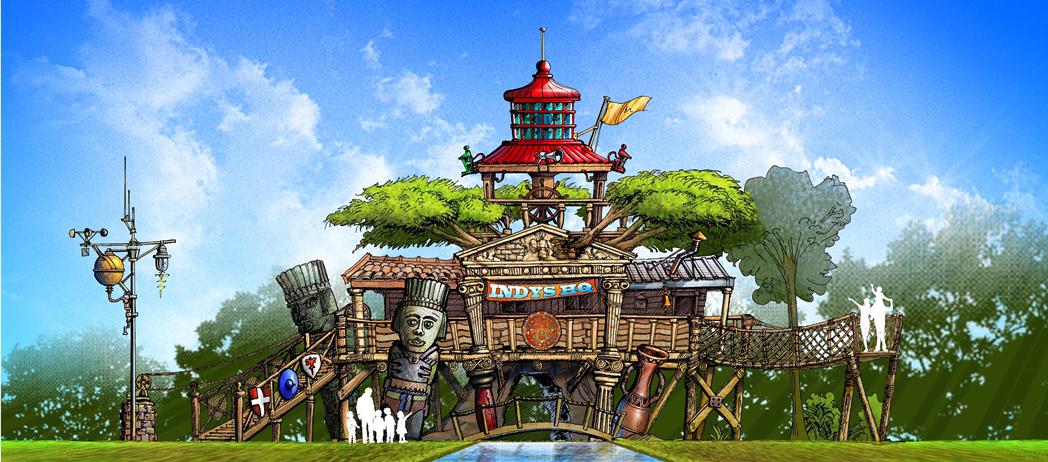Movie Animation Park Studios Malaysia Asia Travel Blog