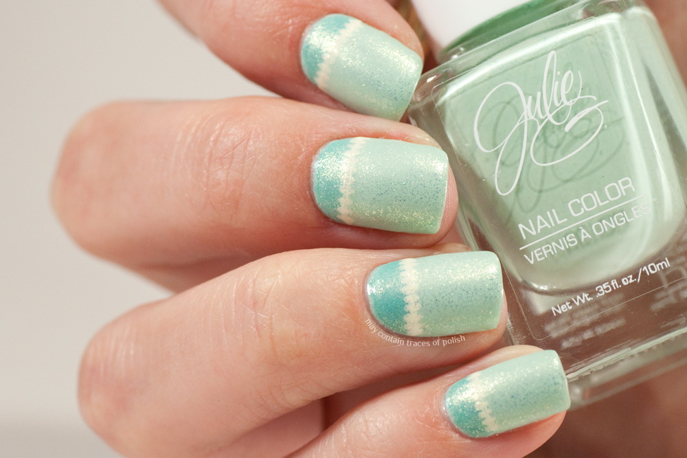 It's Friday night and I'm struggling to get my first post of the week up. I  got home from my weekend trip to Spain on Tuesday so no excuses there  really. - Great Nail Art Ideas - Mint Green - May Contain Traces Of Polish