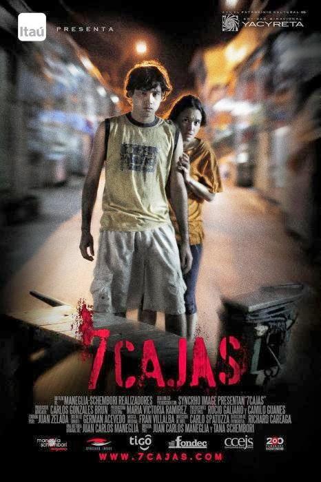 7 CAJAS (J.C.Maneglia y T.Schémbori-2012)