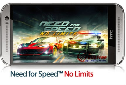 Android : Need for Speed ​​™ No Limits with Data