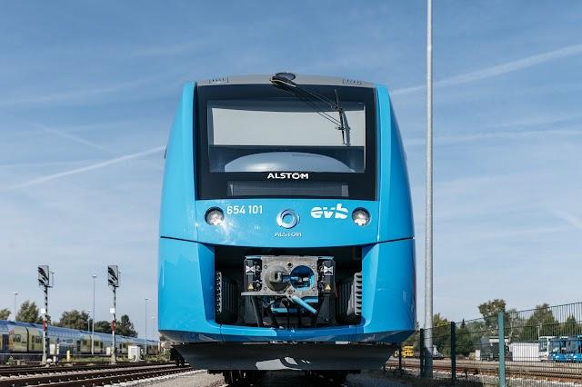 First Hydrogen Fuel Train