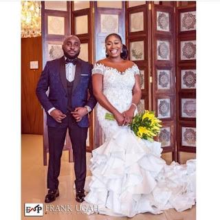 Toke Makinwa Congratulates OAP Gbemi On Her Wedding Day