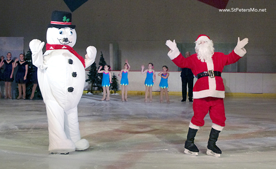 Winter Wonderland on Ice Show in St Peters Mo