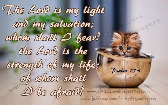 Lord is the Light and Salvation, Dont be Afraid