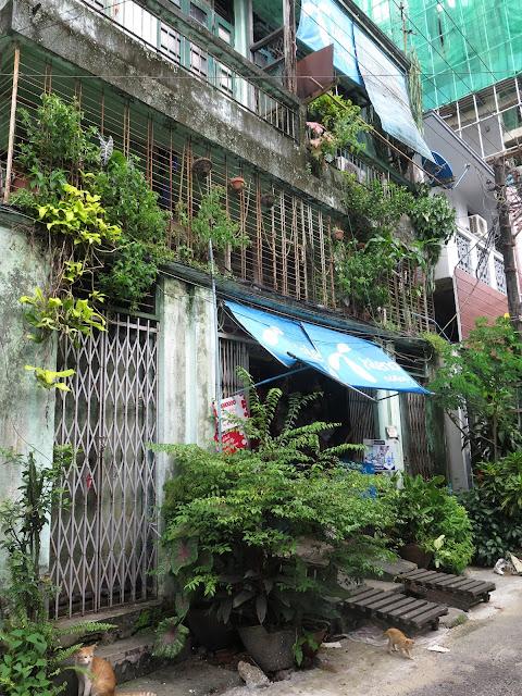 Edificio en el centro de Yangón