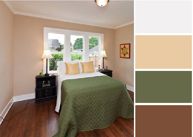 40 combinaciones de paletas de colores para dormitorios for Colores zen para dormitorio