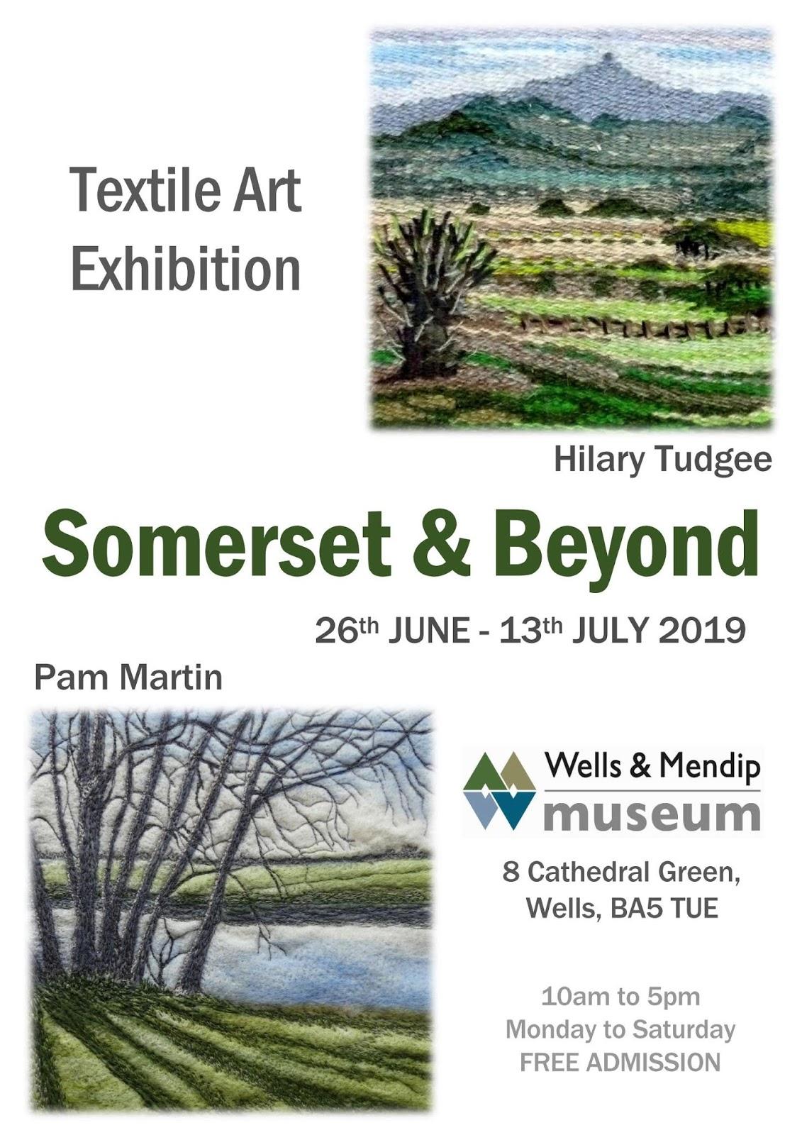 Somerset Stitch: Textile Art Exhibition - Wells & Mendip Museum