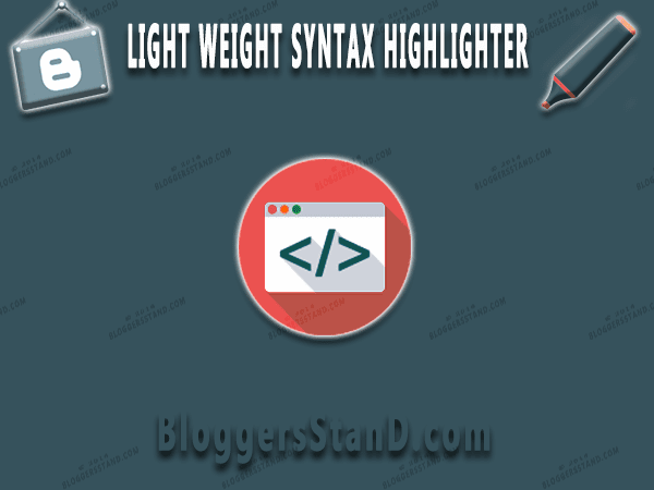 How to implement add prism syntax highlighter for highlighting code in blogger template