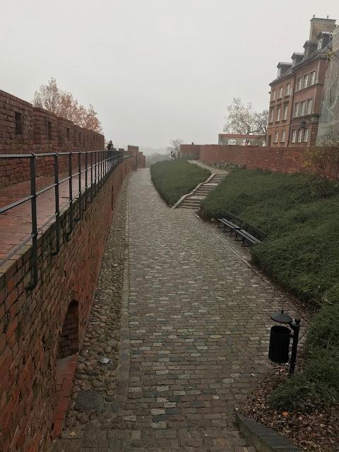 varsavia mura vecchia città