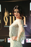 Sonal Chauhan in a stonework Floor Length Silver Designer Gown at IIFA Utsavam Awards March 2017 027.JPG