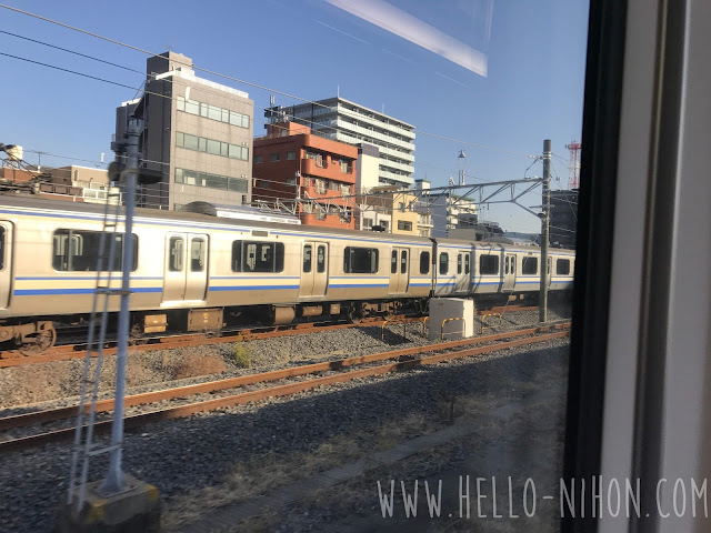The view from the NEX Narita Airport Express