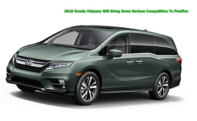2018 Honda Odyssey Will Bring Some Serious Competition To Pacifica