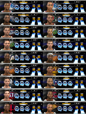 NBA 2K14 Missing Players