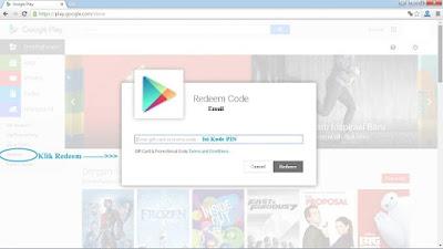 Cara Redeem Google Play Gift Card Menggunakan Voucher Unipin