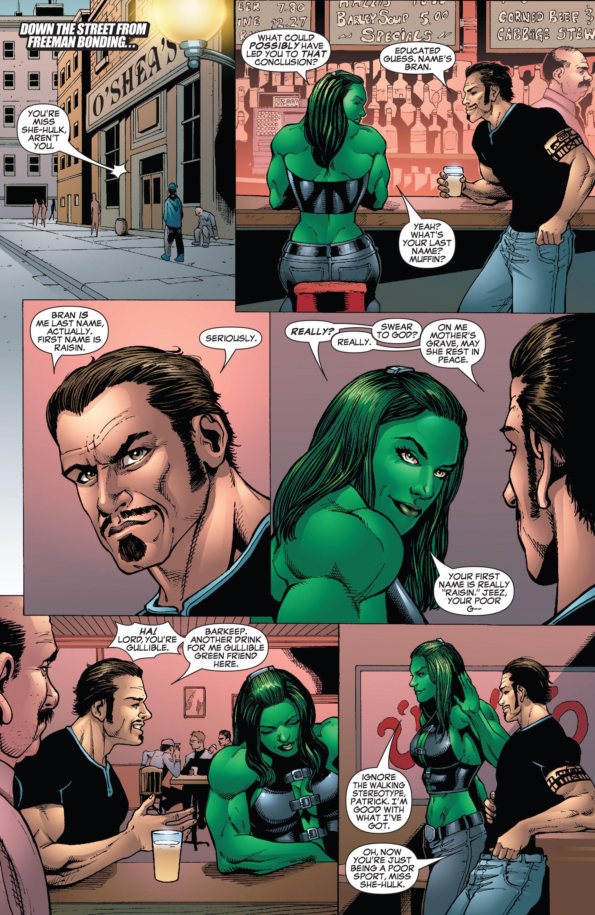Read online She-Hulk (2005) comic -  Issue #24 - 15