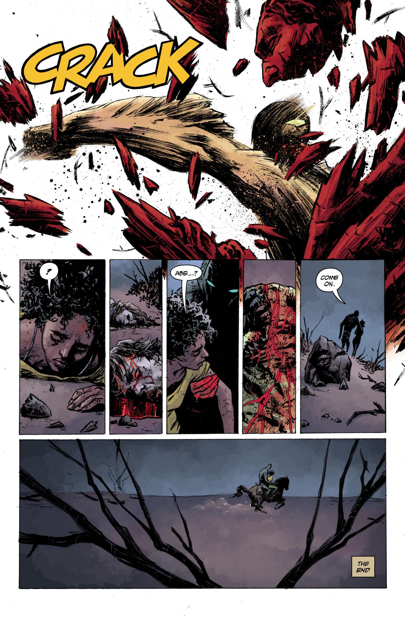 Read online Abe Sapien comic -  Issue #13 - 24