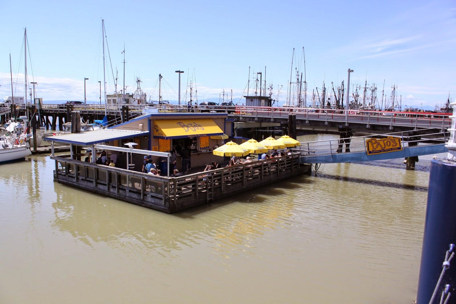 [溫哥華]Waterfront Restaurant Pajo's Fish&Chips 碼頭餐廳Pajo's炸魚薯條 @ KEN的生活日記 :: 痞客邦