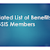 Updated List of Benefits of GSIS Members