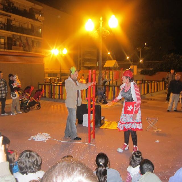 teatro clown , teatro de calle, payasos, payasa, teatro familiar