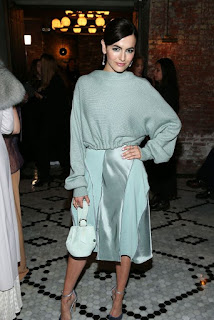 Camilla Belle At Adeam Fashion Show At New York Fashion Week  2018 In New York