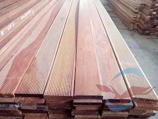 Lantai kayu Outdoor decking kayu Rengas kempas campur Harga murah