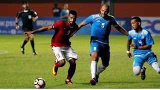 Hasil Timnas Indonesia U-22 vs Puerto Rico 0-0