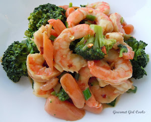 Speedy Shrimp Stir Fry w/ Broccoli