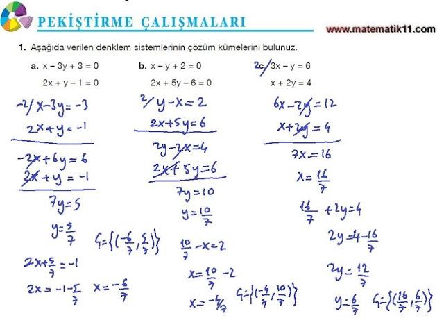 11. Sınıf Matematik Nova Yayınları Ders Kitabı 108. Sayfa İleri Düzey Çözümleri