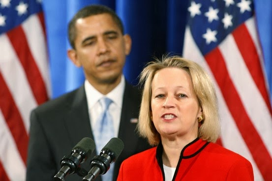 Mary L. Schapiro, Chair, SEC, Securities & Exchange Commision, Jan. 27, 2009, White House, President Barack Obama