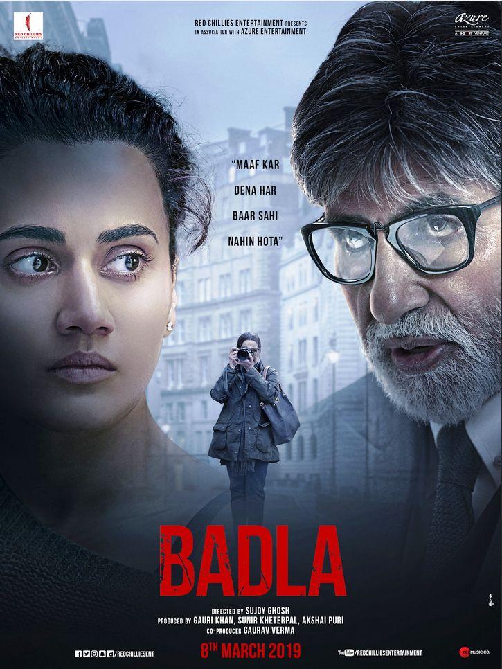 Badla 2019 Hindi 720p HDRip 899MB Download